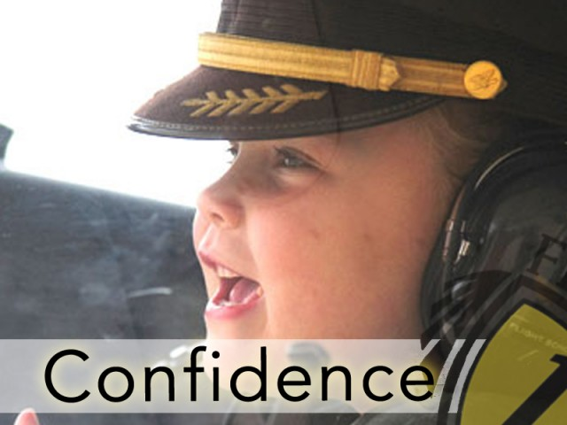 How Confidence Takes Flight