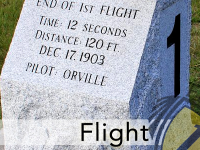 "Flight1 Salutes ""Twelve Seconds That Changed the World"""